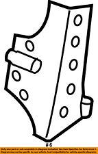 Jeep CHRYSLER OEM 07-17 Wrangler WINDSHIELD-Reinforcement Plate Right 55395578AF