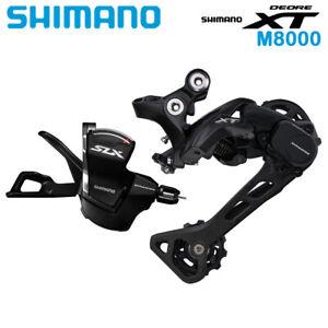 Shimano XT SLX SL-M7000 RD-M8000-SGS Rear Derailleur Long Cage 11 Speed Groupset