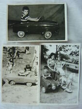 Lot of Vintage Photos Studebaker Pedal Car Toy 780003