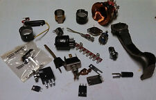 Lot Various Interesting Altered Art Vintage Electronics Project Steampunk  C11-1