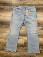 Levi's 527 Slim Bootcut Stretch Denim Jeans Men's Size 38 X 30 Blue NWT $59.50