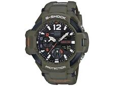 *NEW* CASIO MENS G SHOCK GRAVITY MASTER WATCH SENSOR MILITARY GREEN GA1100KH-3A