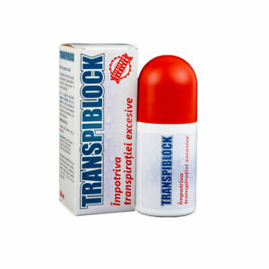 Transpiblock against excessive sweating Roll-on for better feeling free shipping