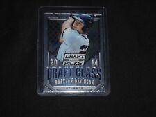 2014 Prizm Perennial Draft Picks Draft Class #30 Braxton Davidson SP Braves