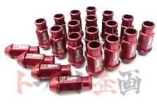 593131005 * D1 Spec Aluminum Wheel Lug Nuts Red 20pcs M12 x P1.25 52mm 180SX S14