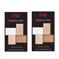 (Lot Of 2) SLEEK MAKEUP Precious Charms Highlighting Palette .31 Oz