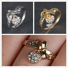 Unbranded Topaz Cocktail Costume Rings