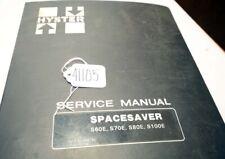 Hyster s60e s70e s80e s100e Service Manual (Inv.41105)