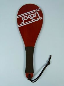 Vintage Jokari Wooden Racquet Paddle