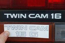 TOYOTA MR2 MK1 REAR LIGHT 'TWIN CAM 16' STICKER AW11 4AGE 1985 TO 1990 BACK LAMP