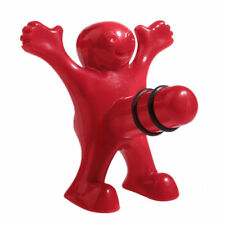 Happy Man Wine Beer Funny Kitchen Bar Red Soda Bottle Opener Stopper