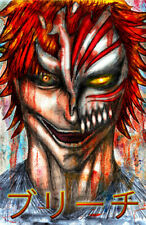 Bleach Ichigo Kurosaki Anime Art 11 x 17 Quality Poster Manga Shinigami