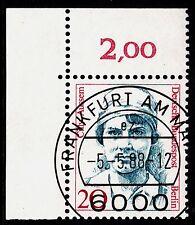 32) Berlin 20 Pf. Frauen  811 Eckrand Ecke 1 E1 EST Frankfurt m Gummi Perfekt