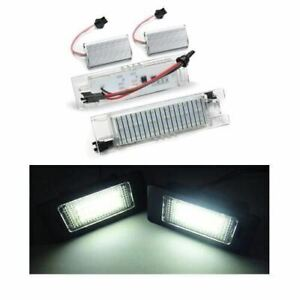 Vauxhall - Astra H VXR 04-09 18 SMD LED Replacement Number Plate Units 6000K