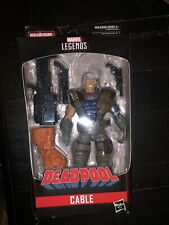 Marvel Legends Cable. Sasquatch series. Free Shipping.