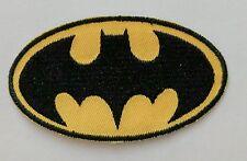 "Batman Patch Iron On Patch 3 1/2"" x 2"" Super Hero Free Shipping"