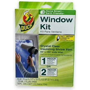 Duck Cooling Insulating Shrink Film Window Kit 84in x 120in