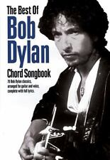The Best of Bob Dylan Chord Songbook (2010, Paperback)