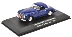 ATL2235003 - Voiture du rallye de Monté Carlo de 1950 SIMCA Gordini 8 Sport  -