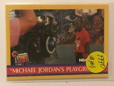 Michael Jordan - 1990/91 NBA Hoops Michael Jordan's Playground Card # 382   #101