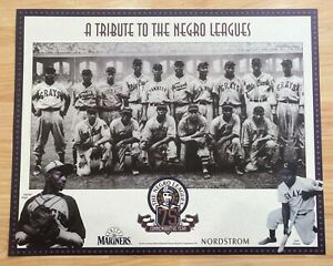 """1939 East West NEGRO LEAGUE All Stars Poster - Satchel Paige Josh Gibson 16""""x20"""""""