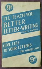 I'll Teach You Better Letter Writing, C Warrell, retro self improvement leaflet