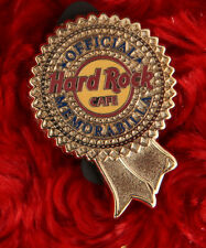 Hard Rock Cafe Pin STAFF MISTAKE Round Gold Official Memorabilia 43285