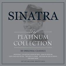 Frank SINATRA il Platinum Collection 3LP WHITE VINYL... SIGILLATO Nuovo di Zecca &