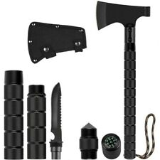 Outdoor Camping Hatchet Multifunctional Military Folding Survival Wood Axe Tool