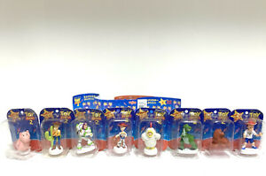 Toy Story 2 Yujins Complete Set Hamm Woody Buzz Jessie Al Rex Buster Wheezy Andy