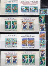 KOREA VALUABLE OLD MNH SOUVENIR SHEET COLLECTION - LOOK!