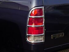 FORD SUPER DUTY F-250/350 TRUCK 1999-2007 TFP ABS CHROME TAIL LIGHT COVER ACCENT