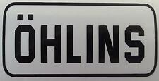 OHLINS motorcycle car bicycle plane sticker pr tank panel vinyl cutout
