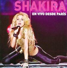 En Vivo Desde Paris [CD/DVD] by Shakira (CD Dec-2011 2 Discs Sony Music Latin)