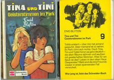 Livre Livre pour enfants Enid Blyton Tina et Tini fantômes voix dans le parc 1980