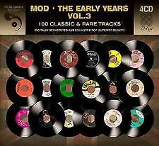 Mod-The Early Years - 100 Classic & are tracks, Various Artists, 4er CD article neuf