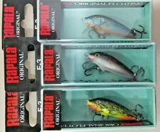 RAPALA original Floating F3-BSM, F3-S, F3-FMN lote 3 Rapala - lot 3 lures
