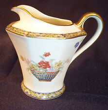 Haviland Limoge GANGA Porcelain Coffee Tea Milk CREAMER Syrup Pitcher Coromandel