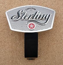 Carlton Sterling Metal Beer Tap Top