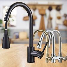 Wasserhahn Küche ausziehbar Küchenarmatur mit Brause Spültischarmatur Edelstahl