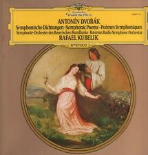 Dvorak(Vinyl LP)Symphonic Poems Rafael Kubelik-Deutsche Grammophon-2530-Ex/Ex