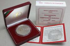 PORTUGAL 2001 SILVER PROOF COIN 1000 Escudos 2004 EUROPEAN FOOTBALL CHAMPIONSHIP