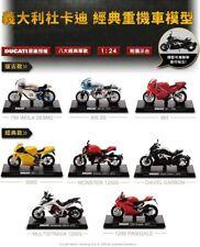 Taiwan7-11 8 New 2015 Taiwan Exclusive Ducati 1:24 Die Cast Model Motorcycle SET