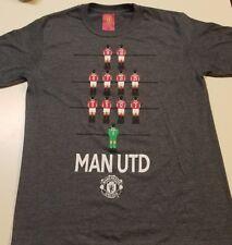 MENS Manchester United MAN UTD Shirt Gray MEDIUM ROONEY OFFICIAL SOCCER M