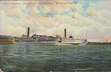 Steamer Ticonderoga and Vermont Burlington VT Stamped 1907  # B4
