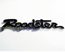 Placa de Esmalte Cromo Roadster Guión Coche Mazda MX5 Eunos Negro Mx 5
