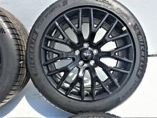 """19"""" FORD MUSTANG GT RIMS WHEELS TIRES OEM FACTORY Staggered Original Set Of 4"""
