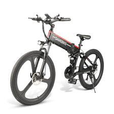 Ebike Folding Electric Bike Portable Citybike mountain 350W 48V 10AH 26'' 25km/h
