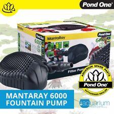 Pond One Mantaray 4000 Fountain Water Pump - Manta Ray Submersible Aquarium Aqua