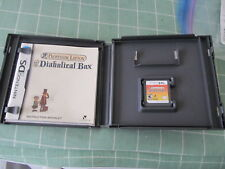Professor Layton and the Diabolical Box (Nintendo DS, 2009) TESTED WORKS